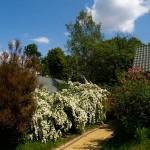 Wejście naszego gospodarstwa wiosną
